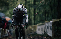 Mathieu van der Poel (NED/Beobank-Corendon)<br /> <br /> Elite Men's race<br /> Superprestige Gavere / Belgium 2017