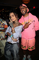 NEW YORK, NY - SEPTEMBER 11: Kehlani and Swizz Beatz at BRIC Celebrate Brooklyn! Festival at The Lena Horne Bandshell in Prospect Park, Brooklyn, New York City on September 11, 2021. <br /> CAP/MPI/WG<br /> ©WG/MPI/Capital Pictures