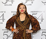 Carmen Ruby Floyd backstage at the 'Avenue Q' 15th Anniversary Reunion Concert at Feinstein's/54 Below on July 30, 2018 in New York City.