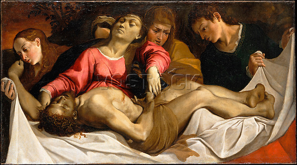 The Lamentation, 1582  by Ludovico Carracci (1555–1619), 1582. The Metropolitan Museum of Art, New York.