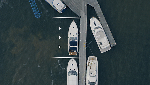 Precision against the dock