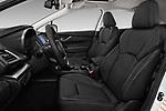 Front seat view of 2018 Subaru Impreza Premium 5 Door Hatchback Front Seat  car photos