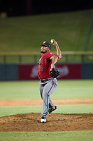 AZL Diamondbacks relief pitcher Nestor Ramirez (44) delivers a pitch to the plate against the AZL Cubs on August 11, 2017 at Sloan Park in Mesa, Arizona. AZL Cubs defeated the AZL Diamondbacks 7-3. (Zachary Lucy/Four Seam Images)