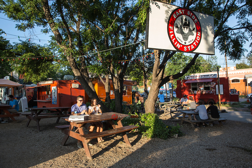 Austin's enjoying a retail boom as the Eastside Food Trailer Parks gain national culinary acclaim in East Austin, East 6th Street.