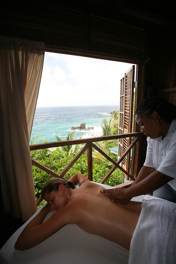 Scenes from Jungle Bay Resort, Spa and Wellness Center, Dominica