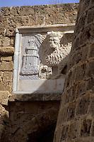 Zypern (Nord), Markuslöwe am Othelloturm in Famagusta (Gazimagusa, Ammochostos)
