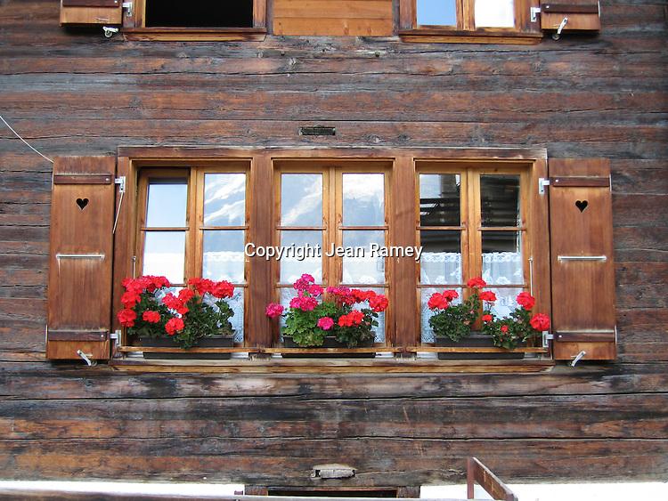 Swiss Alps Window