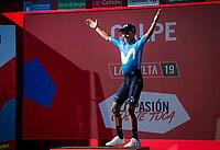 Nairo Quintana (COL/Movistar) wins stage 2 from Benidorm to Calpe (199.6km)<br /> <br /> La Vuelta 2019<br /> <br /> ©kramon