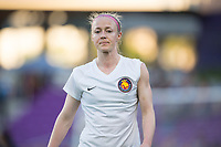 Orlando, FL - Saturday March 24, 2018: Utah Royals defender Becky Sauerbrunn (4) prior to a regular season National Women's Soccer League (NWSL) match between the Orlando Pride and the Utah Royals FC at Orlando City Stadium. The game ended in a 1-1 draw.