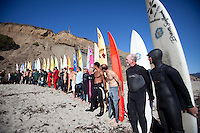 2009-2010 Mavericks Surf Contest opening ceremony in Half Moon Bay, California, Friday, Oct. 30, 2009.
