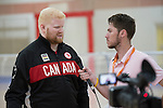 Brendan Gaulin, Rio 2016 - Goalball.<br /> The Canadian Paralympic Goalball Team for Rio 2016 was announced to the media at Variety Village in Toronto // L'équipe canadienne de goalball paralympique pour Rio 2016 a été annoncée aux médias au Variety Village de Toronto. 26/08/2016.