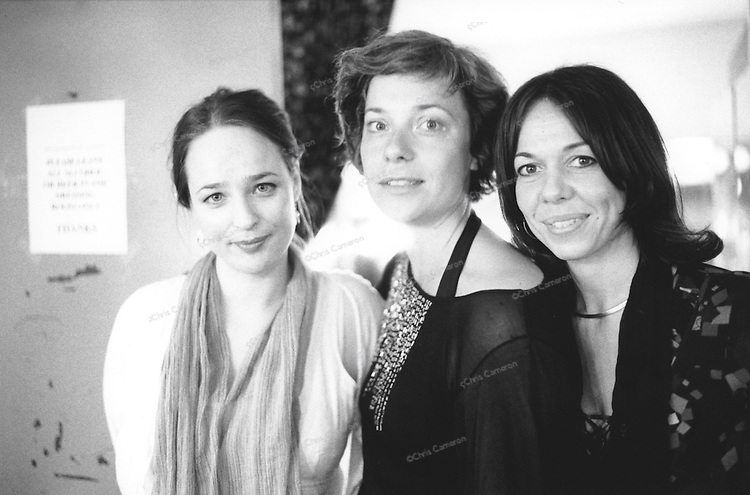"""""""New Jazz Songs"""" Lina Nyberg, Rigmor Gustafsson and Jeanette Lindstrom."""
