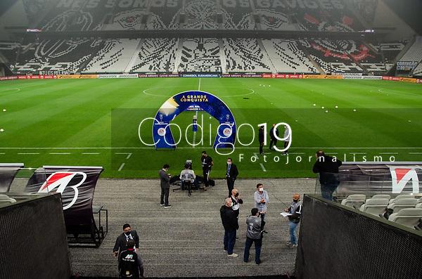 São Paulo (SP), 16/05/2021 - CORINTHIANS-SPORT HUANCAYO PER - Corinthians e Sport Huancayo-PER, a partida é válida pela quinta rodada da fase de grupos da Copa Sul-Americana 2021, na Neo Quimica Arena, noite desta quinta-feira (20).