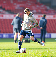 9th January 2021; City Ground, Nottinghamshire, Midlands, England; English FA Cup Football, Nottingham Forest versus Cardiff City; Joe Ralls of Cardiff City during the warm up