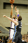 USA's Deron Williams (l) and Argentina's Andres Nocioni during friendly match.July 22,2012. (ALTERPHOTOS/Acero)