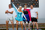 The Frozen Achievers from Tralee taking part in the Beach Fit Games in Waterville on Saturday pictured l-r; Ger Grady, Mazza O'Shea, Lynda Hayes & Danny O'Shea.