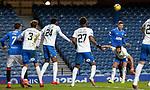 13.02.2021 Rangers v Kilmarnock: Cedric Itten gets the better of Gary Dicker