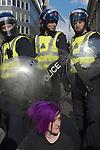 G20 CREDIT CRUNCH DEMONSTRATION LONDON