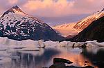 Portage Glacier, Kenai Peninsula, Alaska