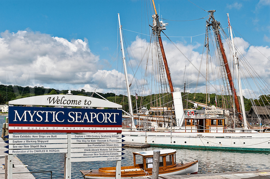 Mystic Seaport Museum, Mystic, Ct, USA