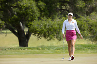 STANFORD, CA - APRIL 24: Amanda Linner at Stanford Golf Course on April 24, 2021 in Stanford, California.