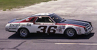 Ron Hutcherson #36 Chevy at the Firecracker 400 at Daytona International Speedway in Daytona Beach, Florida on July 4, 1977. (Photo by Brian Cleary/www.bcpix.com)