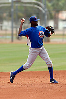 Robert Bautista  -  Chicago Cubs - 2009 extended spring training.Photo by:  Bill Mitchell/Four Seam Images