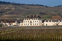 vineyard chateau de  pommard cote de beaune burgundy france