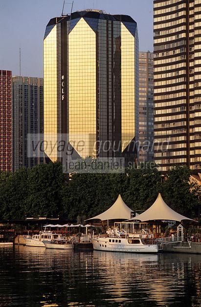 Europe/France/Ile-de-France/75015/Paris: Le front de Seine - XV ème arrondissement
