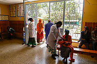 ETHIOPIA Taza Catholic Health Center / AETHIOPIEN Taza Catholic Health Center, Sr. Meskel Kelta, Reception