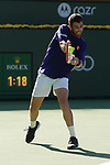 Cameron Norrie (GBR) defeated Grigor Dimitrov (BUL) 6-2, 6-4, at the BNP Paribas Open being played at Indian Wells Tennis Garden in Indian Wells, California on October 16,2021: ©Karla Kinne/Tennisclix/CSM