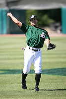 K.C. Herron of the Clinton Lumberkings during the Midwest League All-Star game.  Photo by:  Mike Janes/Four Seam Images