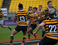 Action from the NZ Barbarians Under-85kg club rugby union quarterfinal between Eastbourne and Wellington Axemen at Sky Stadium in Wellington, New Zealand on Saturday, 17 October 2020. Photo: Dave Lintott / lintottphoto.co.nz