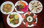 Assorted Appetizers, Maroosh Restaurant, Miami, Florida