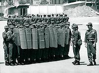 Polizeitraining in Inchon, Korea 1986