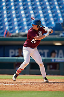Cole Wagner (26) of Red Land High School in Lewisberry, PA during the Perfect Game National Showcase at Hoover Metropolitan Stadium on June 19, 2020 in Hoover, Alabama. (Mike Janes/Four Seam Images)
