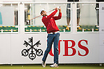 Steve Lewton of England tees off the first hole during the 58th UBS Hong Kong Open as part of the European Tour on 08 December 2016, at the Hong Kong Golf Club, Fanling, Hong Kong, China. Photo by Marcio Rodrigo Machado / Power Sport Images