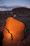 Grimes Point rock art site, ancient shore of Lake Lahontan in the Great Basin, Nev.