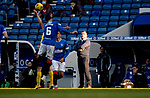 Rangers v St Johnstone…25.04.21   Ibrox.  Scottish Cup<br />Saints manager Callum Davidson watches the game<br />Picture by Graeme Hart.<br />Copyright Perthshire Picture Agency<br />Tel: 01738 623350  Mobile: 07990 594431