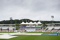 The weather continues to impact the WTC Final on day 4 during India vs New Zealand, ICC World Test Championship Final Cricket at The Hampshire Bowl on 21st June 2021