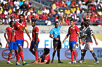 Orlando, FL - Saturday June 04, 2016: during a Copa America Centenario Group A match between Costa Rica (CRC) and Paraguay (PAR) at Camping World Stadium.