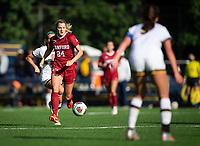 Stanford Soccer W v University of California-Berkeley, April 16, 2021