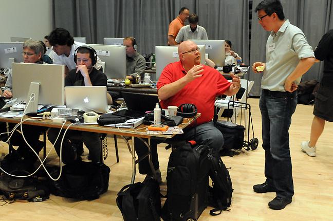 2010 NPPA Multimedia Immersion, Syracuse, New York. (photo by Pico van Houtryve)