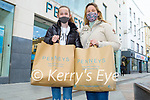 Caoimhe O'Connor with her mom Grainne O'Connor from Castleisland enjoying some retail therapy in Penny's on Monday.