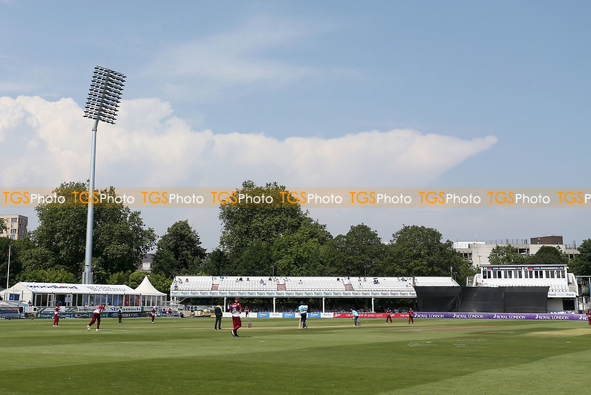 General view of the action during Essex Eagles vs Cambridgeshire CCC, Domestic One-Day Cricket Match at The Cloudfm County Ground on 20th July 2021