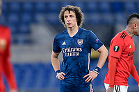 18th February 2021, Rome, Italy;  David Luiz of Arsenal FC during the UEFA Europa League round of 32 Leg 1 match between SL Benfica and Arsenal at Stadio Olimpico, Rome, Italy on 18 February 2021.
