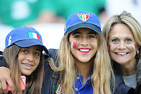 Italian fan during Match 28 of the Rugby World Cup 2015 between Ireland and Italy - 04/10/2015 - Queen Elizabeth Olympic Park, London<br /> Mandatory Credit: Rob Munro/Stewart Communications