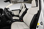 Front seat view of 2018 Toyota RAV4 Hybrid-Limited-4x4 5 Door SUV Front Seat  car photos