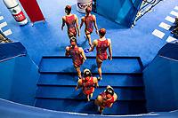 Israel ISR<br /> BLECHER Eden BOBRITSKY Shelly<br /> CHALEMSKY Elina DORF Maya<br /> GREEN Emili LITMAN Gal<br /> NAHSHONOV Nikol NASSEE Ariel<br /> OSTROVSKY Tali POLKA Yael<br /> Gwangju South Korea 18/07/2019<br /> Artistic Swimming Free Combination Preliminaries<br /> 18th FINA World Aquatics Championships<br /> Yeomju Gymnasium <br /> Photo © Giorgio Scala / Deepbluemedia / Insidefoto