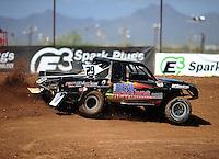 Apr 15, 2011; Surprise, AZ USA; LOORRS driver Richard Cassey (29) during round 3 and 4 at Speedworld Off Road Park. Mandatory Credit: Mark J. Rebilas-.